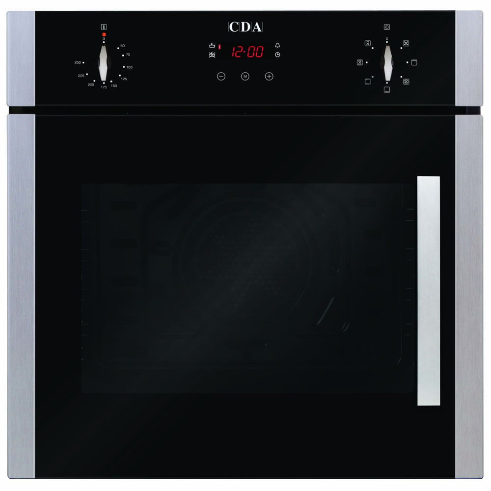 CDA SC620SS Seven function, electric, side opening oven