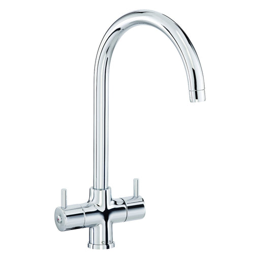CDA TF55CH Monobloc filter tap with swan neck spout