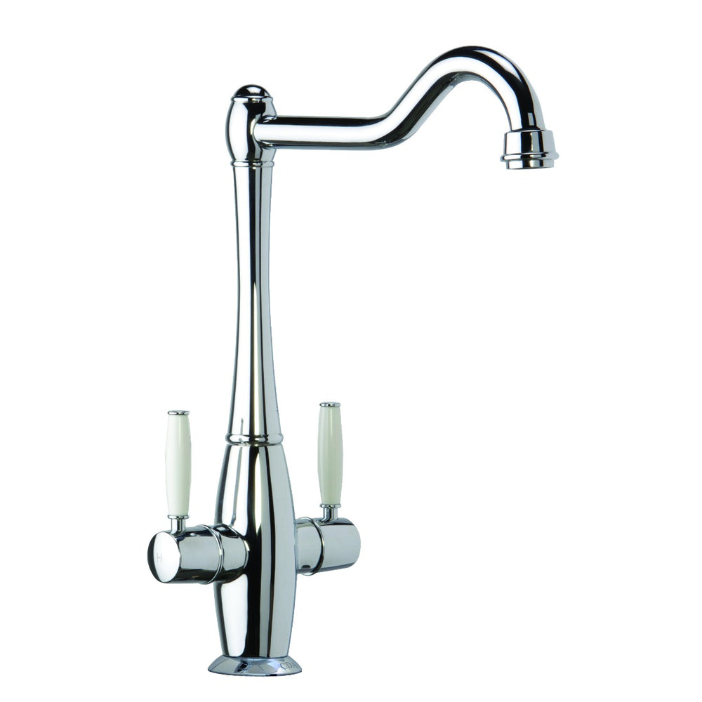 CDA TT50CH Traditional dual lever monobloc tap