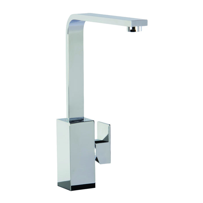 CDA TV9CH Contemporary square side single lever tap (Chrome)