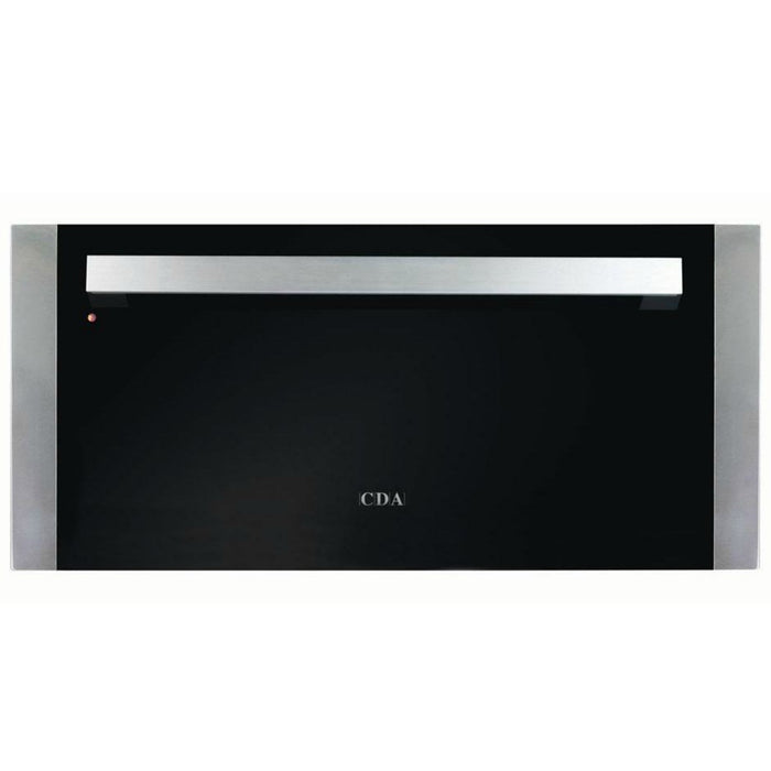 CDA VW281SS Large warming drawer
