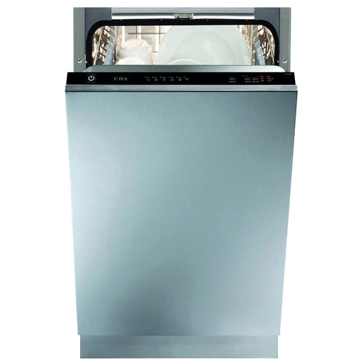 CDA WC432 Integrated slimline dishwasher