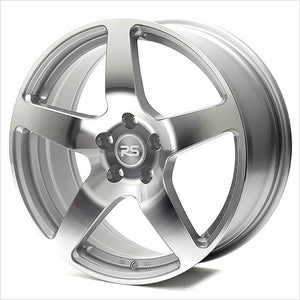 Neuspeed RSe52 Machined Silver Wheel 18x8 5x112 45mm