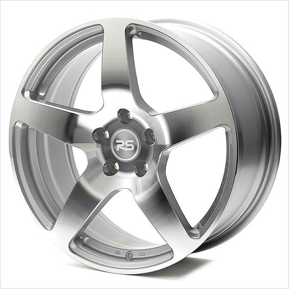 Neuspeed NM Eng RSe52 Gloss Silver Wheel 18x7.5 4x100 45mm
