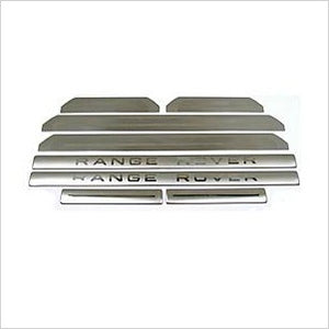 Stainless Steel Sill Scuff Plate Kit Range Rover Sport