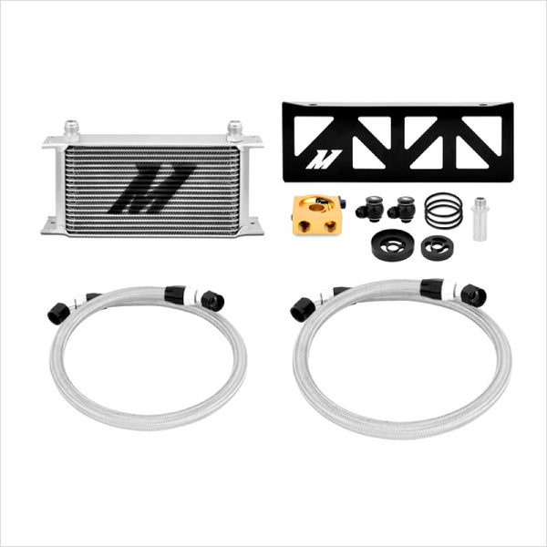 Mishimoto Thermostatic Oil Cooler Kit Silver BRZ FR-S T86