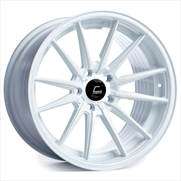 Cosmis R1 White Wheel 18x10.5 5x114.3 +30mm