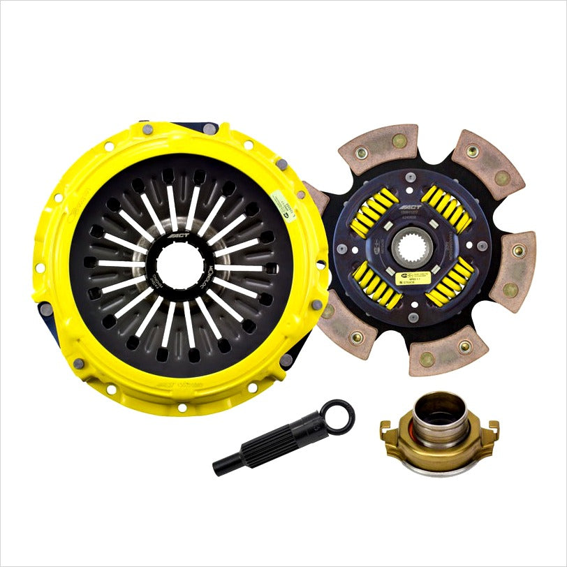 ACT Heavy Duty Race Sprung 6-Puck Disc Clutch Kit EVO X