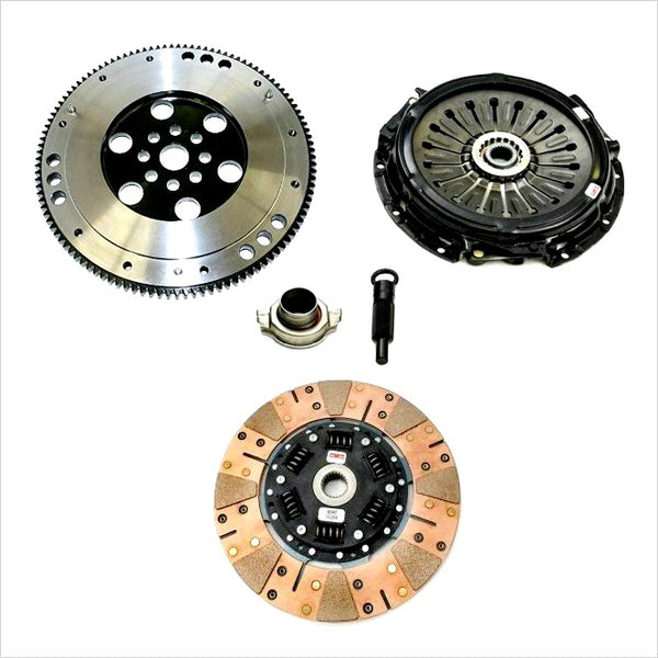 Competition Clutch Stage 3 Segmented Ceramic Clutch Kit w/ Flywheel WRX (2006-2014)