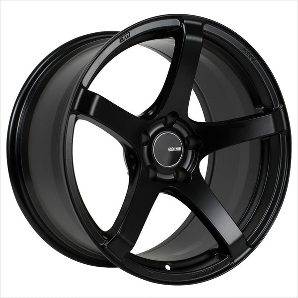 Enkei Kojin Matte Black Wheel 18x8.5 5x114.3 35mm