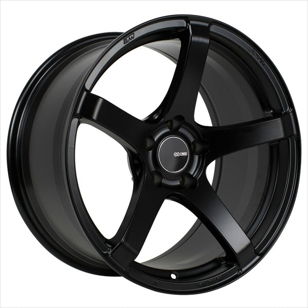 Enkei Kojin Matte Black Wheel 18x9.5 5x114.3 15mm