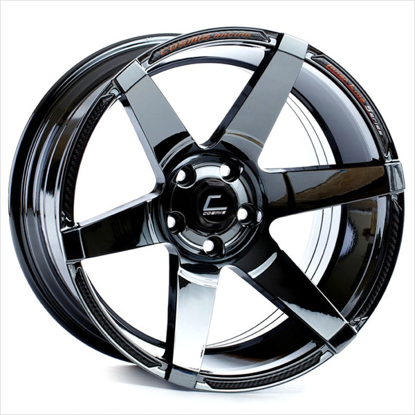 Cosmis S1 Black Chrome Wheel 18x10.5 5x114.3 +5mm
