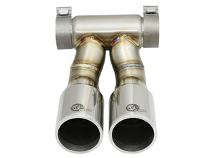 aFe Power 13-14 Porsche Cayman S / Boxster S Polish Exhaust Tip Upgrade