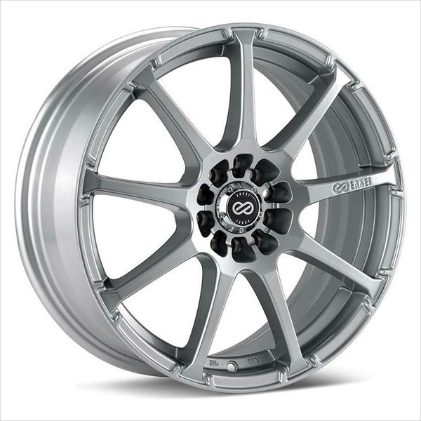 Enkei EDR9 Silver Wheel 17x8 5x112/114.3 45mm