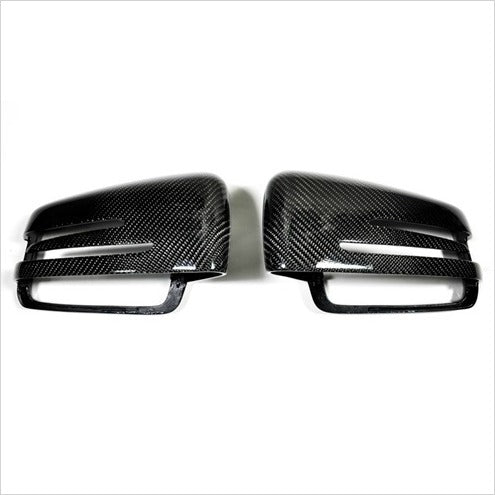 AutoTecknic Carbon Fiber Mirror Covers Mercedes
