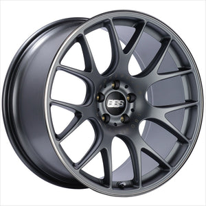 BBS CH-R Satin Titanium Wheel 19x8.5 5x130 51mm
