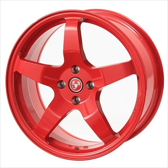 Neuspeed Neu-F RSe05 Red Wheel 17x7.5 4x98 35mm