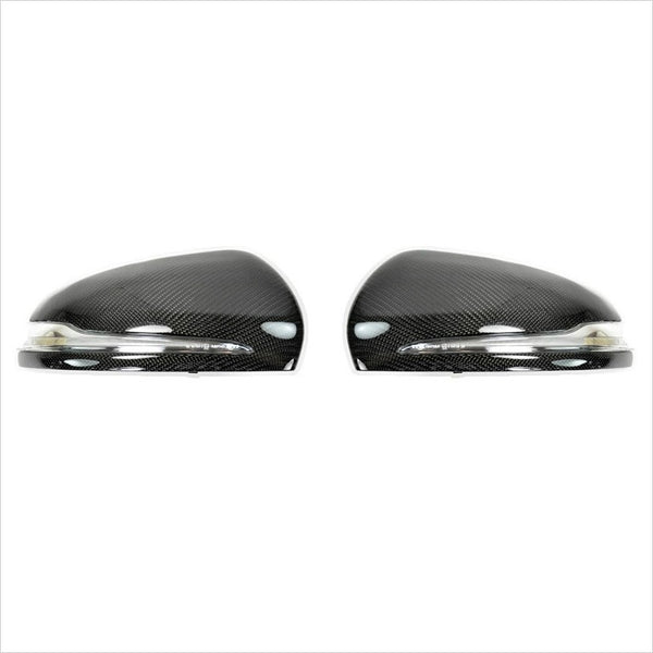AutoTecknic Carbon Fiber Mirror Covers Mercedes W205 C-Class W222 S-Class