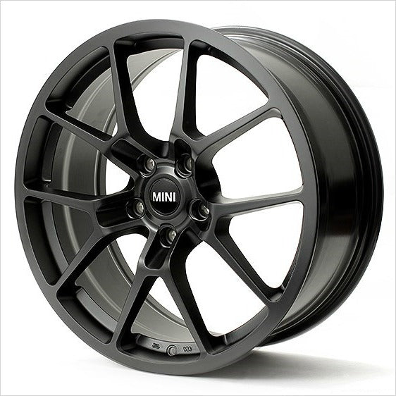 Neuspeed RSe10 Satin Black Wheel 18x8.5 5x112 45mm