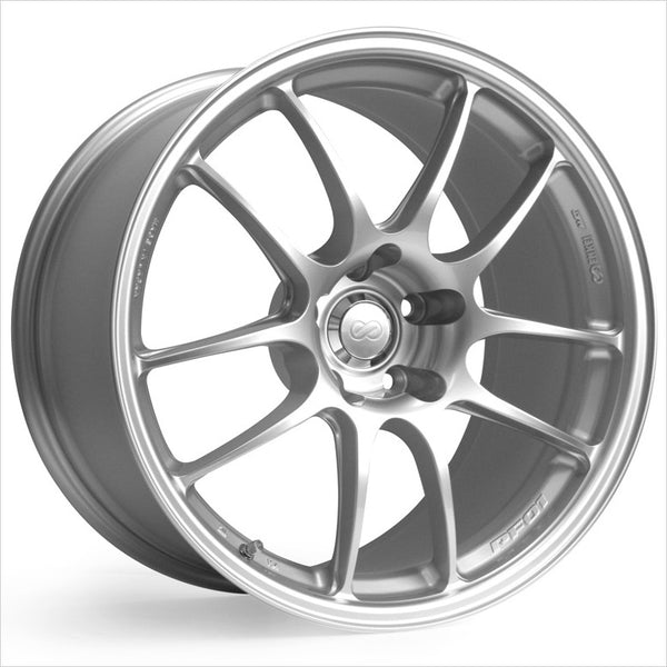 Enkei PF01 Silver Wheel 18x7.5 5x100 45mm