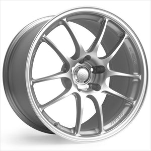 Enkei PF01 Silver Wheel 17x7 4x100 38mm