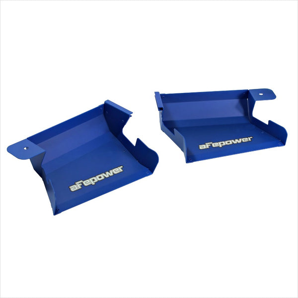 aFe MagnumFORCE Intake Dynamic Air Scoops Blue BMW E90 E92 335i M3