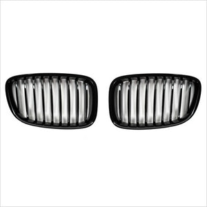 Autotecknic Gloss Black Front Grille BMW F07 5 Series GT