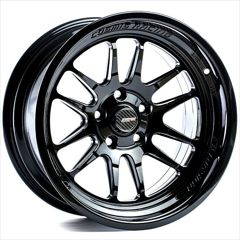 Cosmis XT206R Black Wheel 17x8 5x100 +30mm