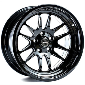 Cosmis XT206R Black Wheel 15x8 4x100 +30mm