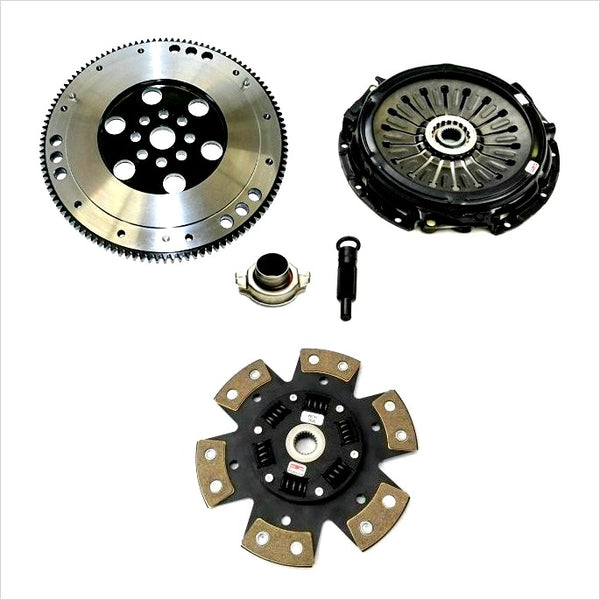 Competition Clutch Stage 4 6-Puck Clutch Kit w/ Flywheel WRX (2006-2014)