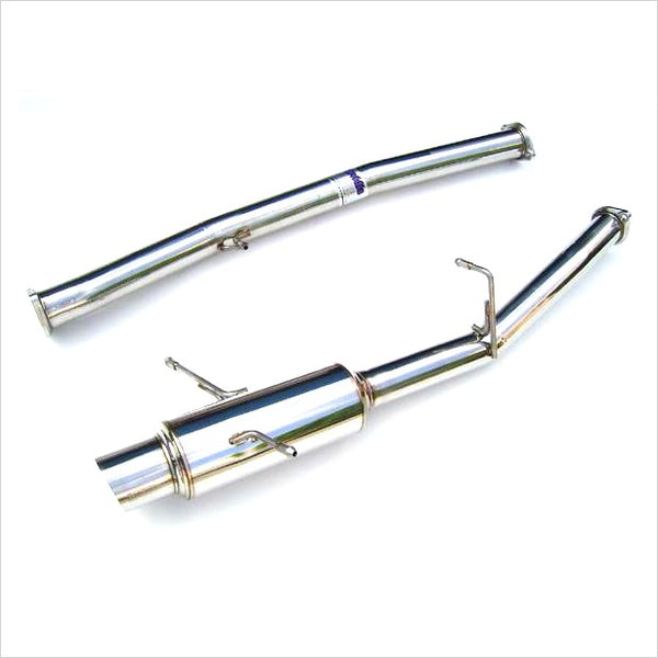 Invidia N1 Racing Catback Exhaust Stainless Steel Tip WRX / STI (2002-2007)