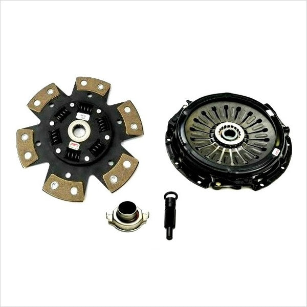 Competition Clutch Stage 4 6-Puck Clutch Kit EVO X