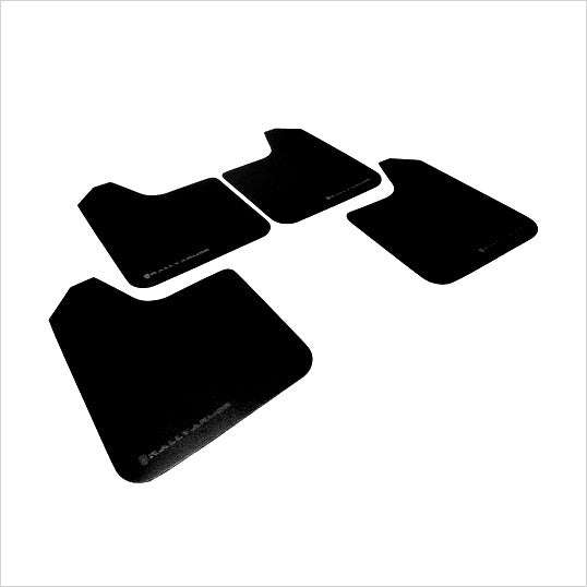 Rally Armor Basic Mud Flaps Black WRX (2008-2010)