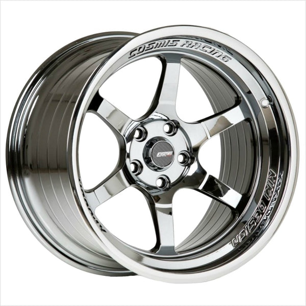 Cosmis XT-006R Black Chrome Wheel 18x9.5 5x114.3 +10mm