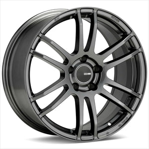 Enkei TSP6 Gunmetal Wheel 17x8 5x100 45mm