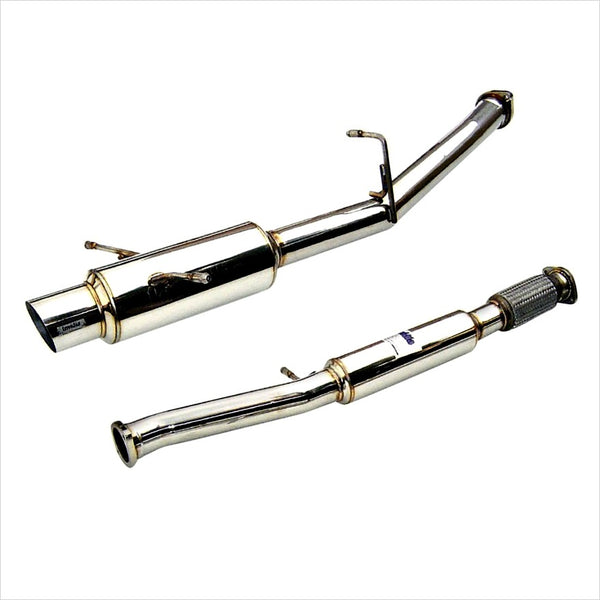 Invidia N1 Regular Catback Exhaust Stainless Steel Tip WRX / STI (2002-2007)