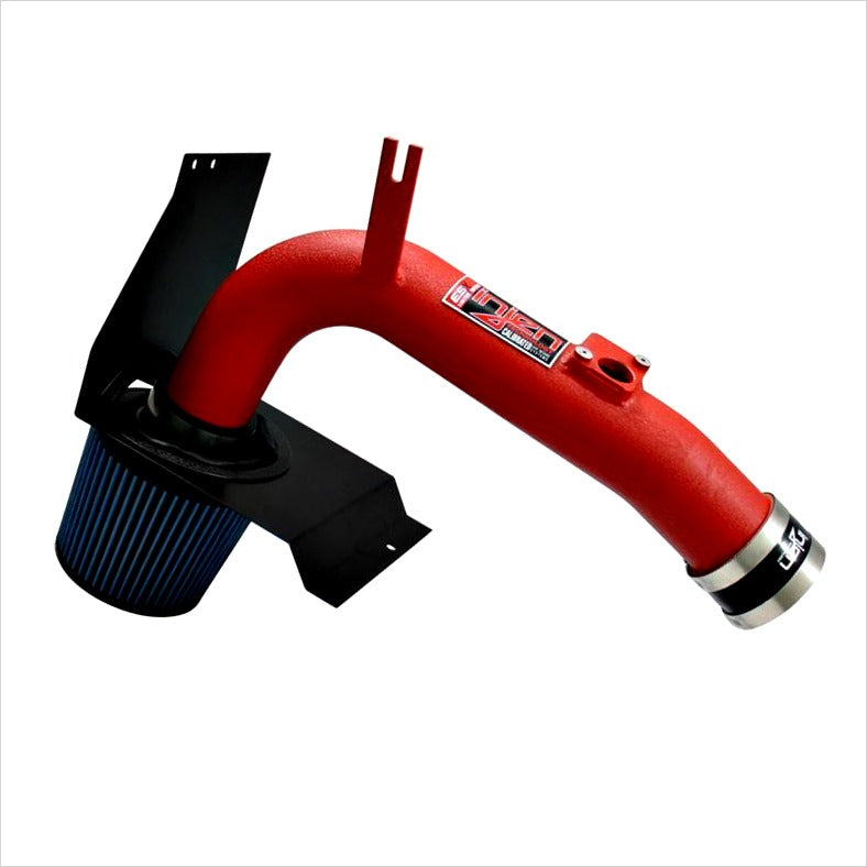Injen Cold Air Intake Wrinkle Red WRX / STI (2008-2014)