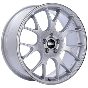 BBS CH-R Brilliant Silver Wheel 18x8.5 5x112 47mm