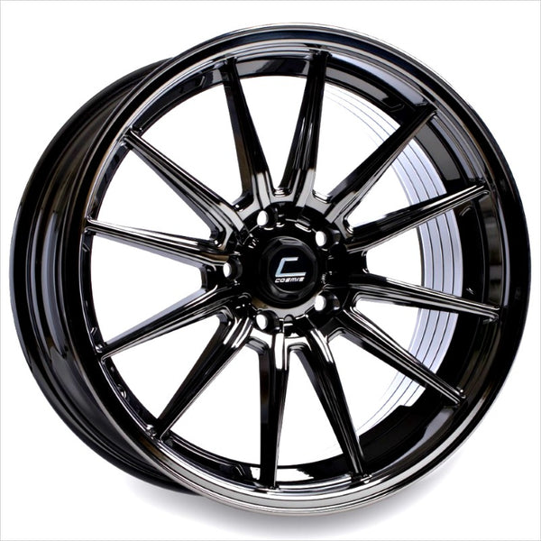 Cosmis R1 Black Chrome Wheel 18x8.5 5x114.3 +35mm