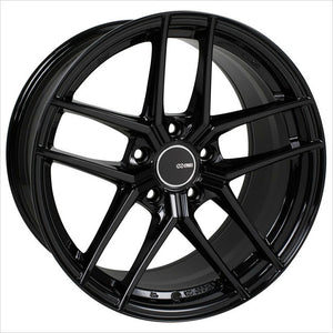 Enkei TY5 Gloss Black Wheel 18x8 5x114.3 40mm