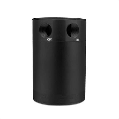Mishimoto 2 Port Compact Baffled Oil Catch Can