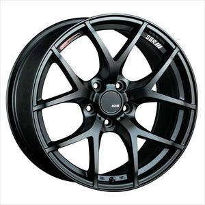 SSR GTV03 Flat Black Wheel 18x8.5 5x114.3 40mm