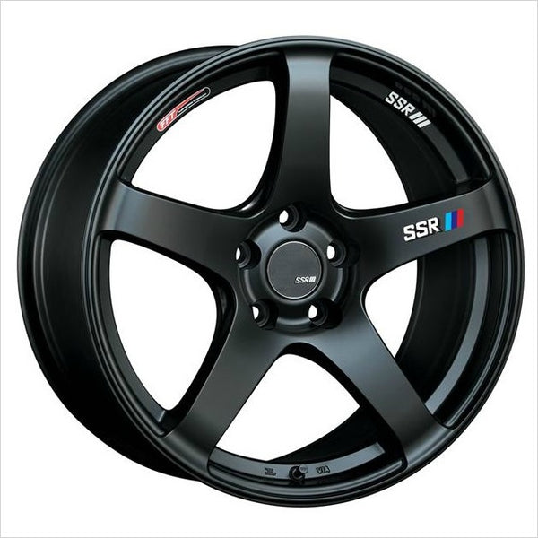 SSR GTV01 Flat Black Wheel 18x8.5 5x114.3 40mm