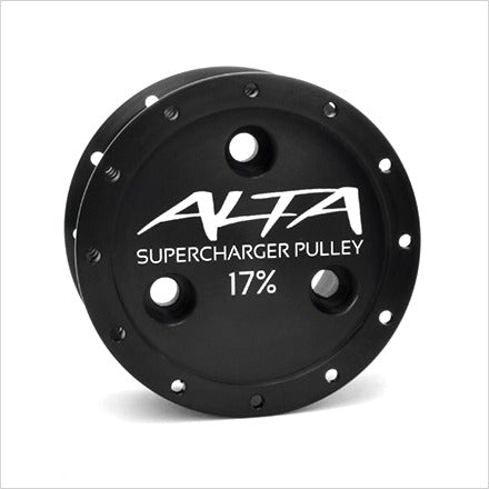 Alta V2 Supercharger Pulley 17% MINI Cooper S R53
