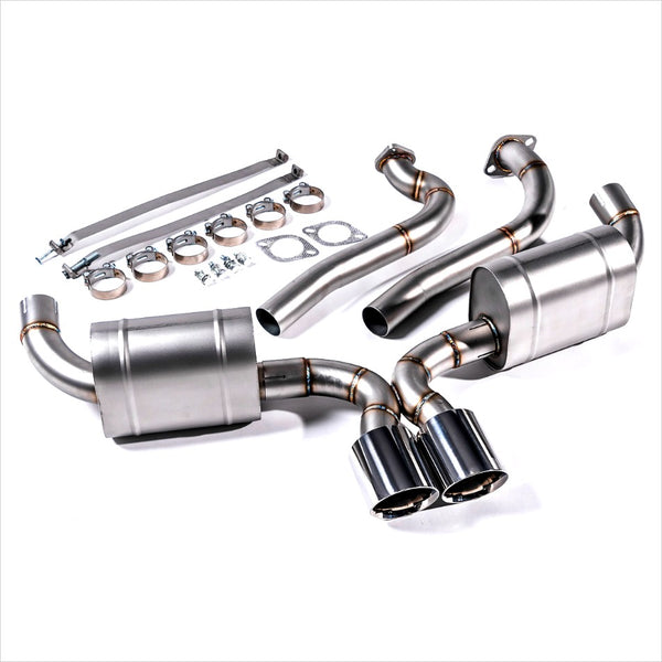 Agency Power Catback Exhaust Porsche Cayman / Boxster 718