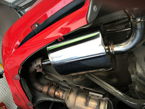 Agency Power Exhaust Mufflers Porsche 986 Boxster (1997-2004)