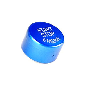 AutoTecknic Start Stop Button Blue BMW F-Chassis