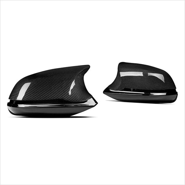 AutoTecknic Dry Carbon Fiber M-Inspired V3 Mirror Housing Kit BMW F22 F30 F32 F87 M2