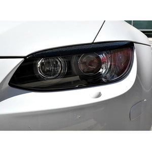 Autotecknic Carbon Fiber Headlight Covers BMW E92 3-Series E90 E92 M3