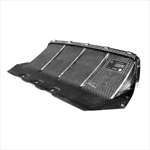 AutoTecknic Dry Carbon Fiber Competition Center Diffuser BMW F10 M5
